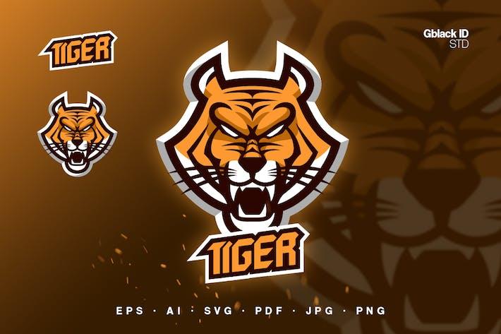 Thumbnail for Tiger head Mascot