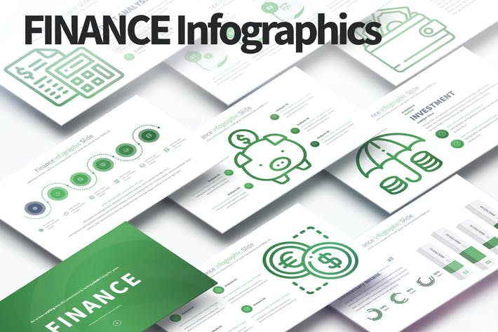 Cover Image For Finance - PowerPoint Infographics Slides