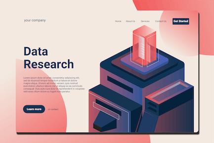 Data Server - Landing Page
