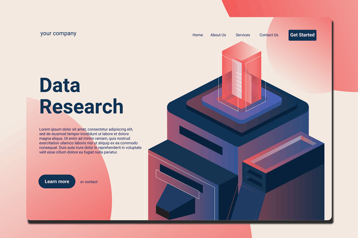 Thumbnail for Data Server - Landing Page