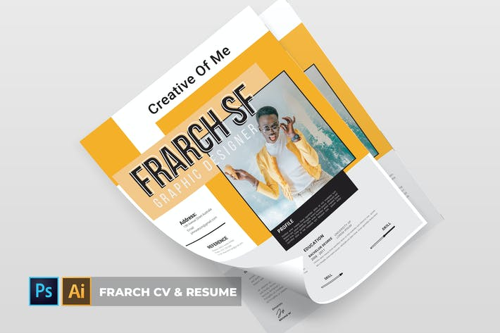 Thumbnail for FRARCH | CV & Resume