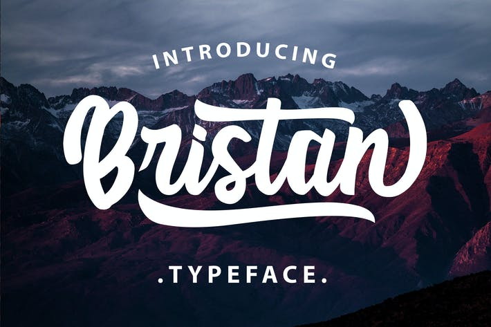 Thumbnail for Bristan Typeface