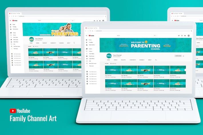 Thumbnail for Art de la chaîne Youtube en famille