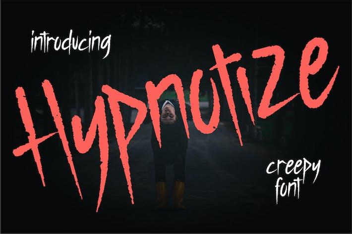 Thumbnail for Hypnotize | Creepy Font