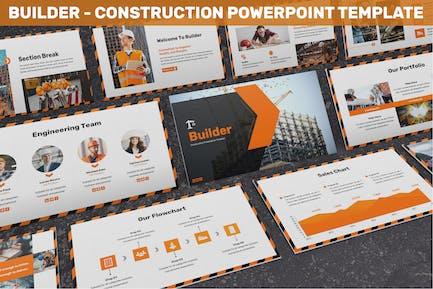Builder - Construction Powerpoint Template