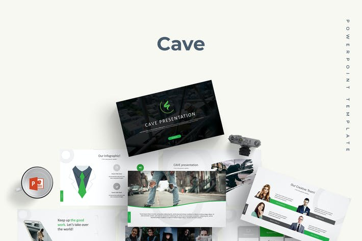 Thumbnail for Cave - Powerpoint Template