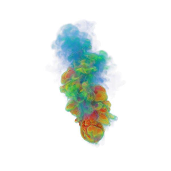Многоцветный дым