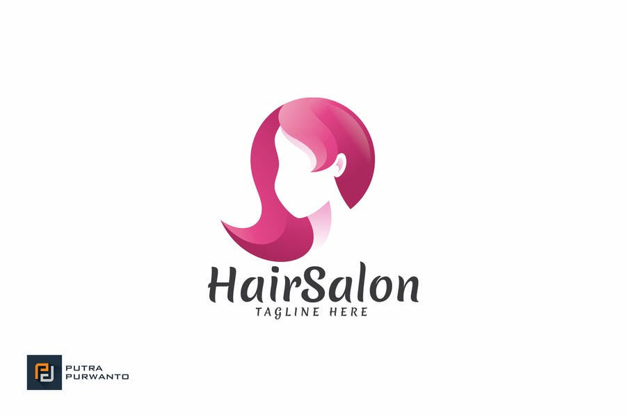 Hair Salon - Logo Template
