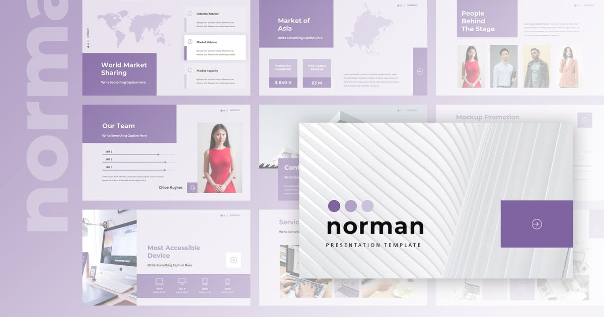 Download Norman - Business Powerpoint Presentation by TMint