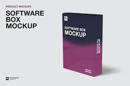 Коробка программного обеспечения - Mockup