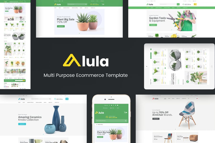 Alula - Multipurpose Prestashop Theme