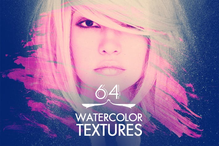 Thumbnail for 64 Watercolour Textures