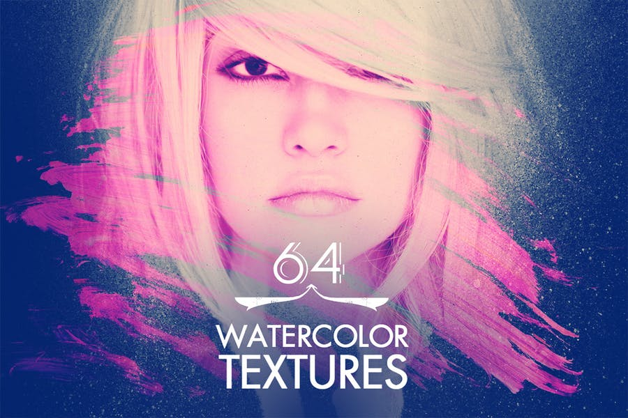 64 Watercolour Textures