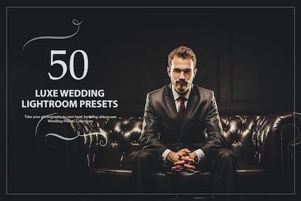 50 Luxe Свадебные Пресеты Lightroom