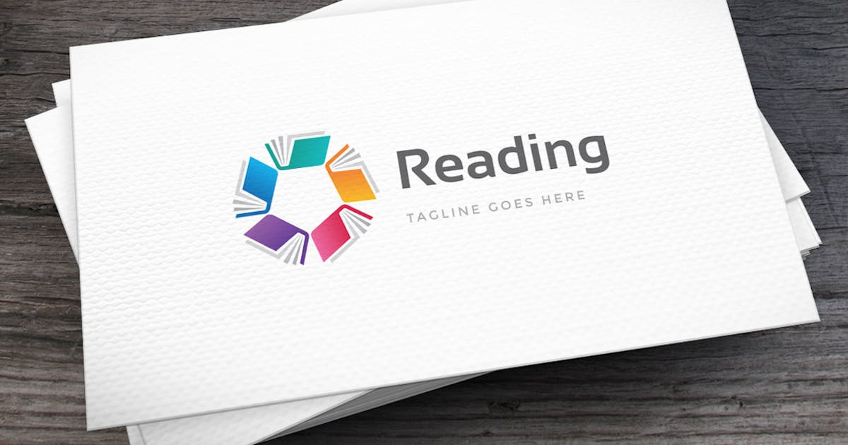 Download Reading Club Logo Template by empativo