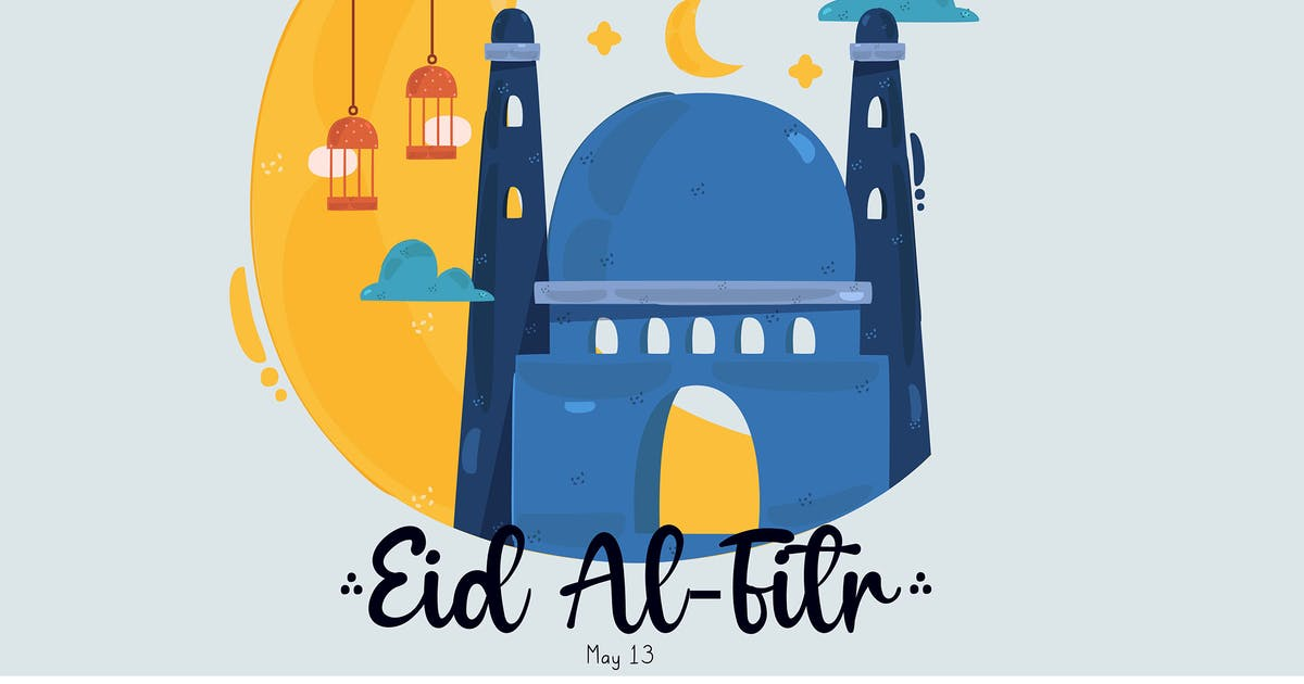 Download Eid Al-Fitr Illustration by april_arts