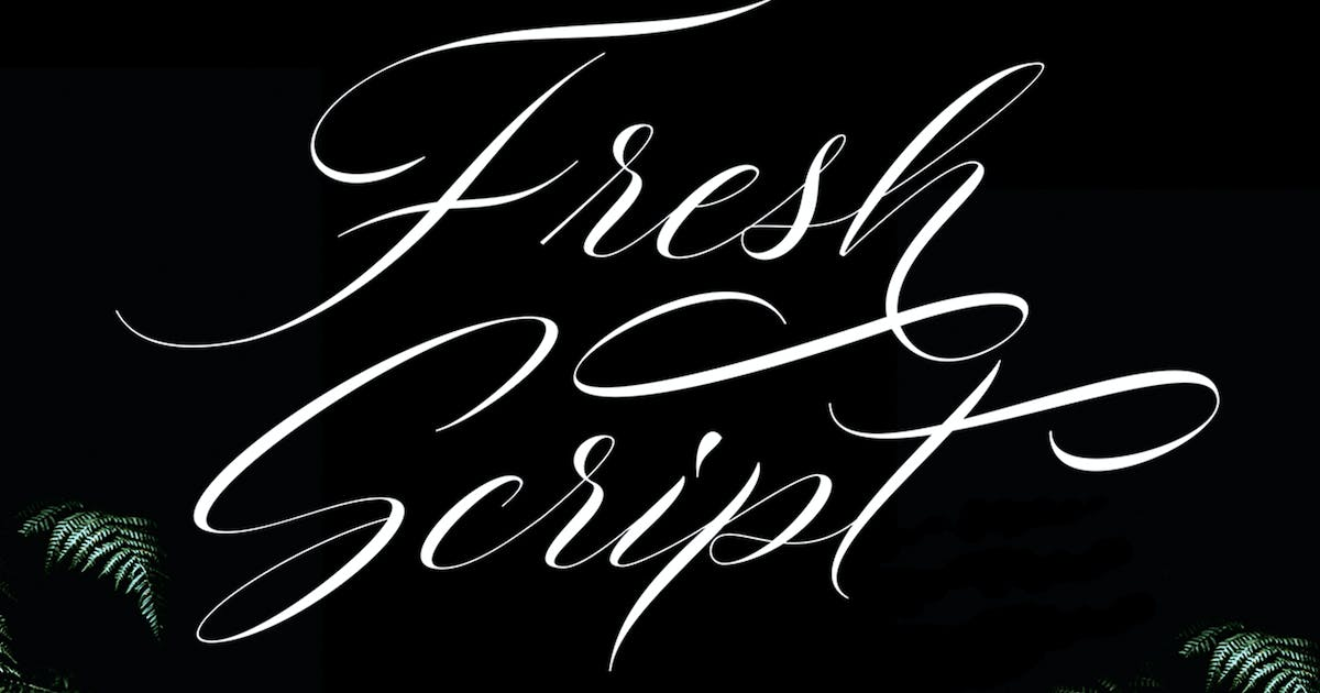 Download Fresh Script by Solidtype