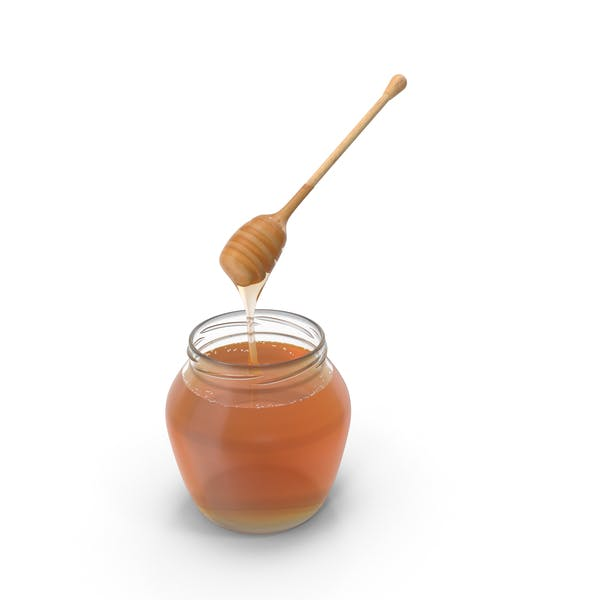 Cover Image for Honey In A Jar With Dipper