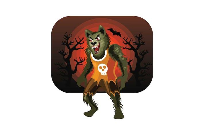 Thumbnail for Halloween Werewolf Character