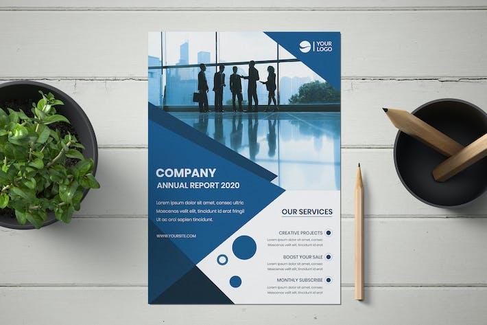 Thumbnail for Modern business flyer template