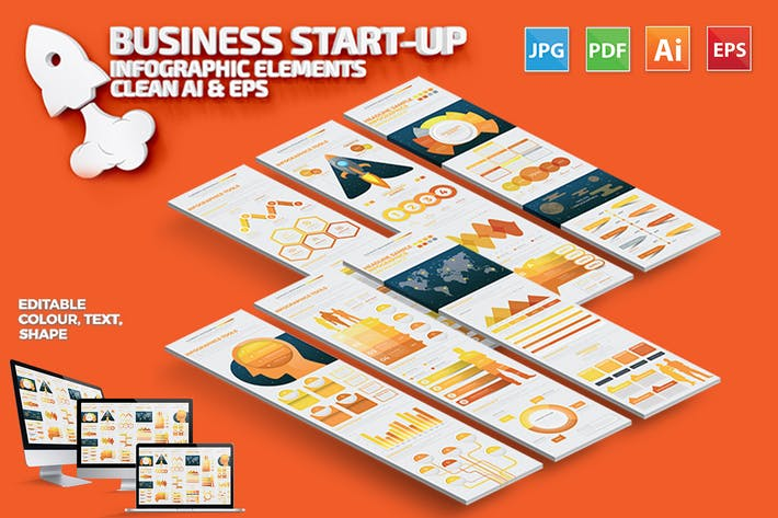 Thumbnail for Business - Start Up Infographic