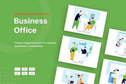 Leo - Business Vector Scenes (Vol 01)