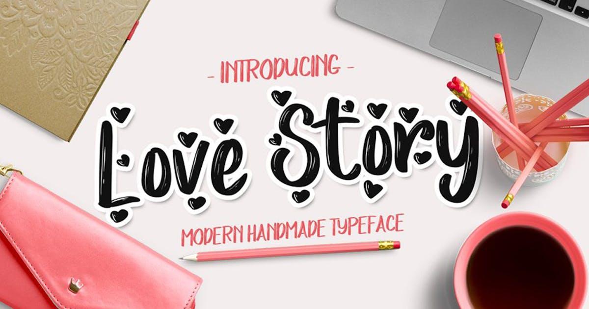 Download Love Story Typeface by DebutStudio