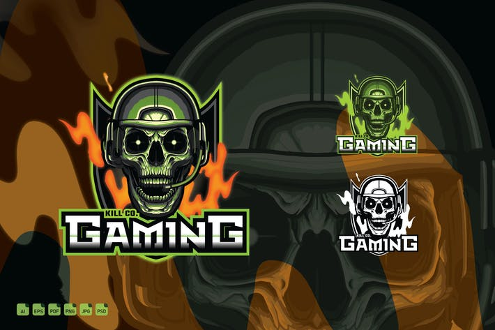 Gaming-Logotype des eSports-Clans - Kill Co. Gaming