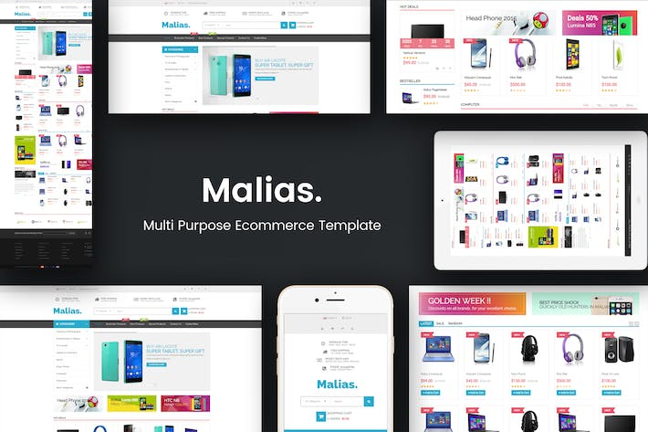 Thumbnail for Malias - Responsive Prestashop Theme