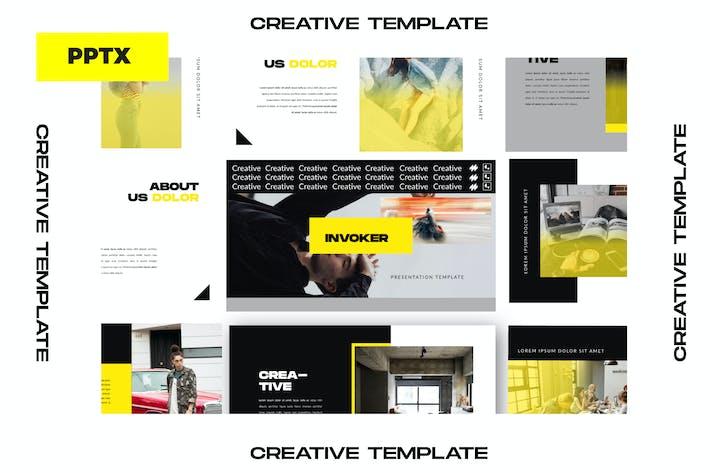 Thumbnail for INVOKER. - URBAN PPTX  Business Company