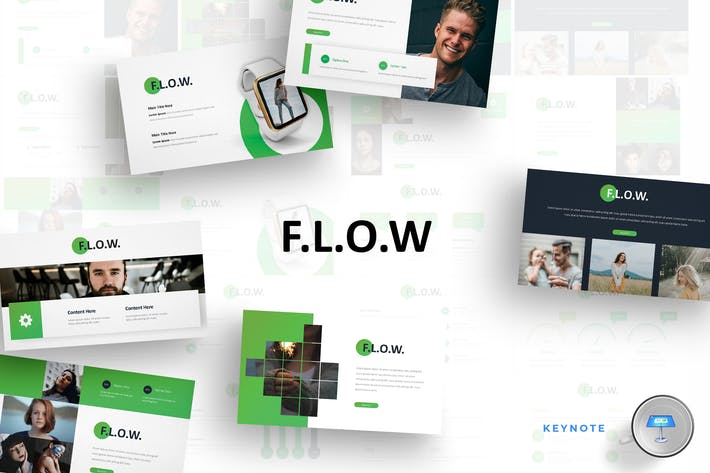 Thumbnail for Flow - Keynote Template