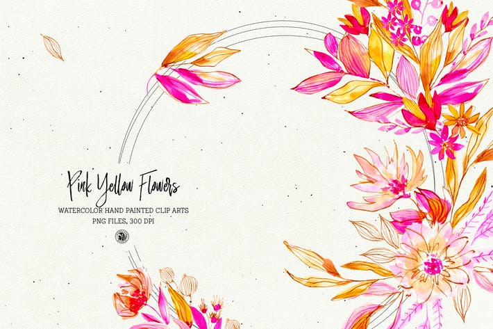 Thumbnail for Pink Yellow Flowers