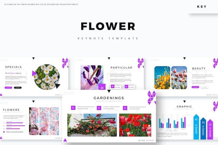 Thumbnail for Flower - Keynote Template