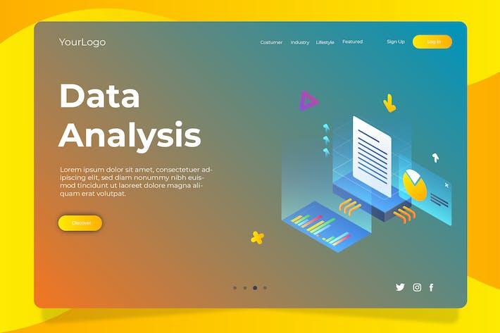 Thumbnail for Data Analysis 02 - Banner & Landing Page