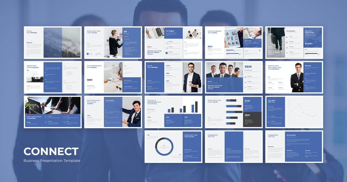 Download CONNECT PRESENTATION. by celciusdesigns