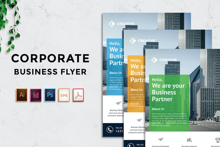 Thumbnail for Rantautemp - Creative Corporate Flyer