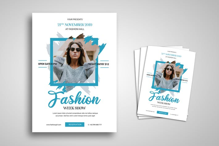 Thumbnail for Fashion Week Flyer Promo Template