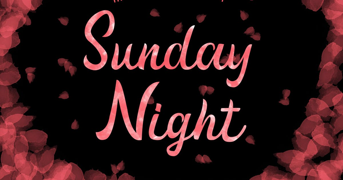 Download Sunday Night Handwritten Script Font by giantdesign