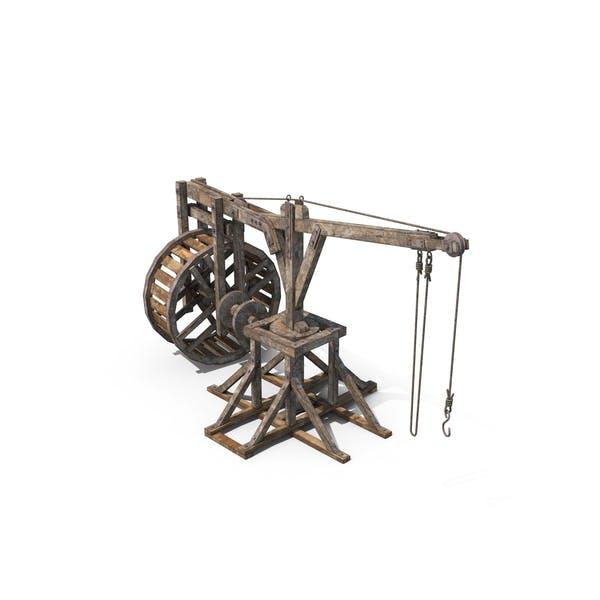 Old Wooden Crane
