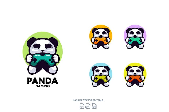 Thumbnail for Panda Gaming Logo Design
