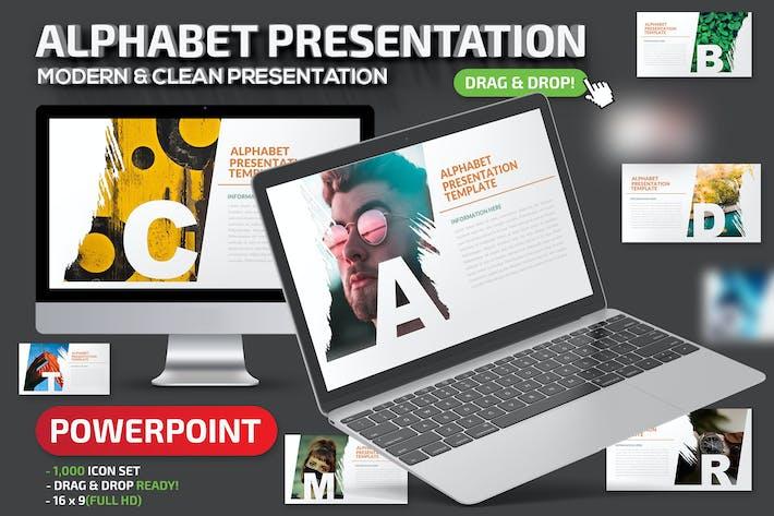 Thumbnail for Alphabet2 Powerpoint Presentation