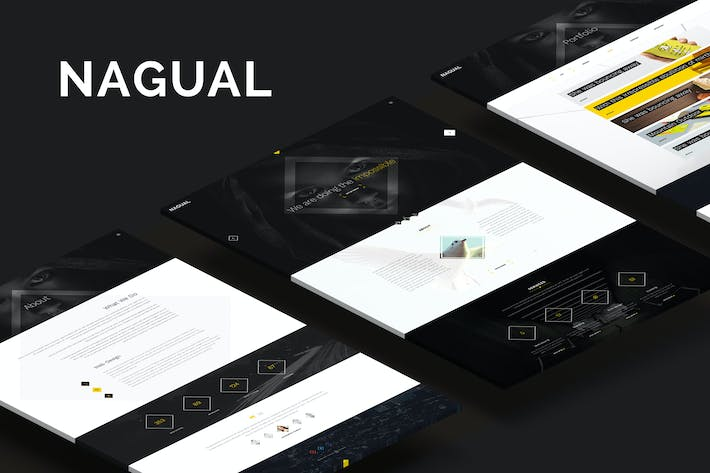 Thumbnail for Nagual — Creative Personal or Agency Portfolio