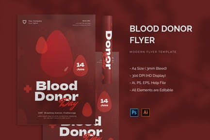 Blood Donor - Flyer