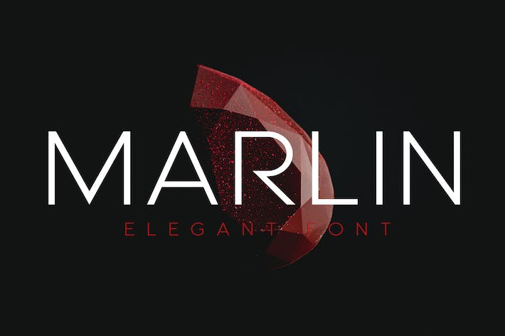 Thumbnail for MARLIN - Luxury font