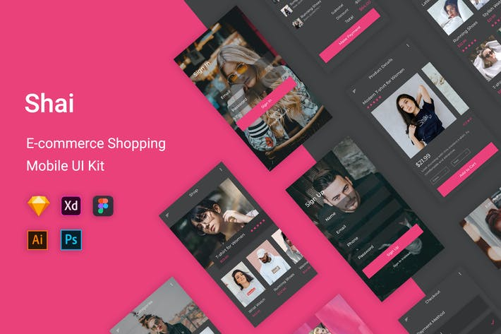 Shai - Ecommerce Shopping UI Kit