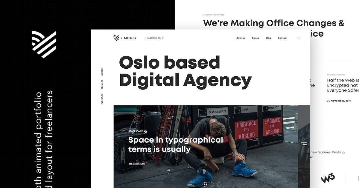 Download Agensy | Digital Lab & Creative Solutions by themezinho