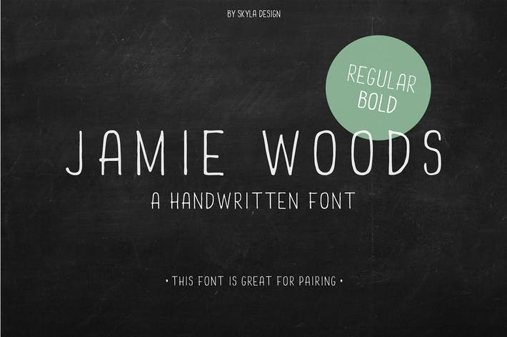 Thumbnail for Skinny condensed font Jamie Woods