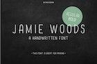 Skinny condensed font Jamie Woods