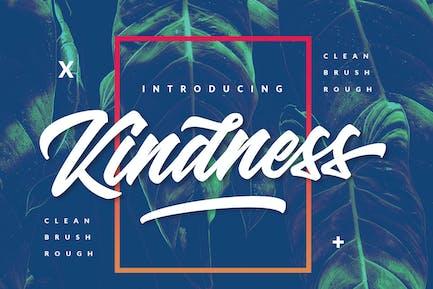 Kindness Typeface 3 Font