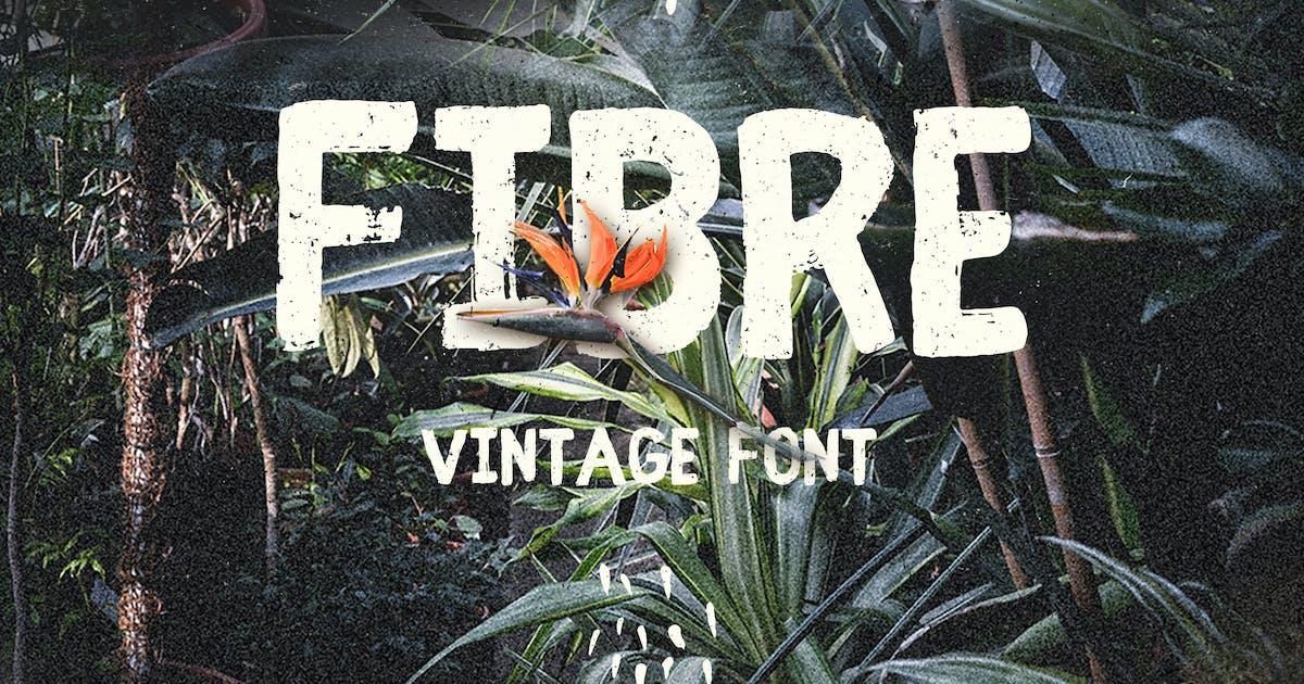 Download Fibre - Vintage Font by WildOnes